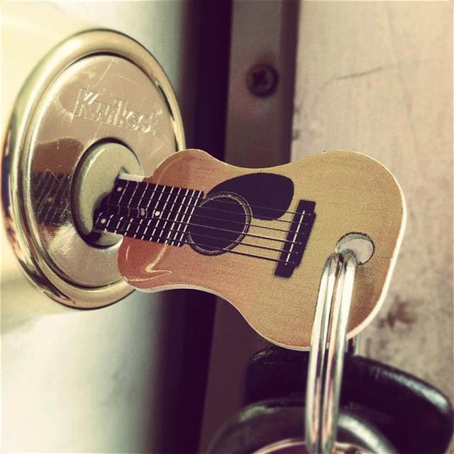 gitara je kljuc