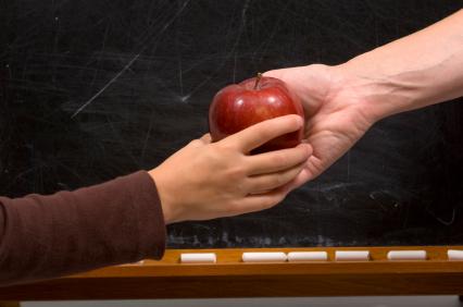 Apple for Teacher - handshake variation